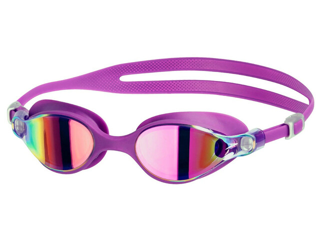 speedo Virtue Mirror Goggle Women Purple Vibe/Pink